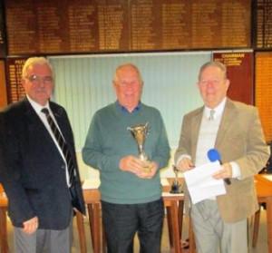 Morning / Afternoon League winners - Bob Nelmes & Geoff Hamson